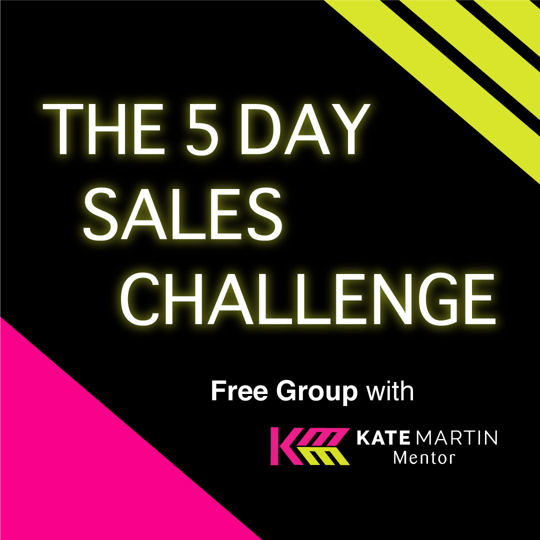 the 5 day sales challenge