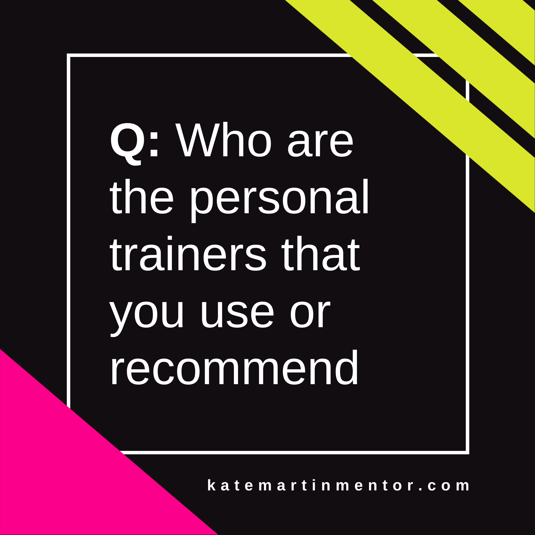 Trainer Recommendation