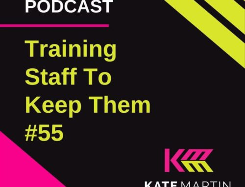 Here's a quick podcast on staff & contractors and training them to keep them.